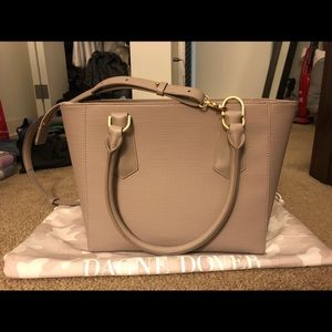 Danger Dove Classic Midi Tote in Bleeker Blush